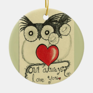 Owls 2 -  Ornament