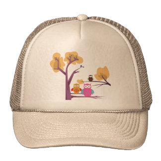 Owls 2 trucker hat