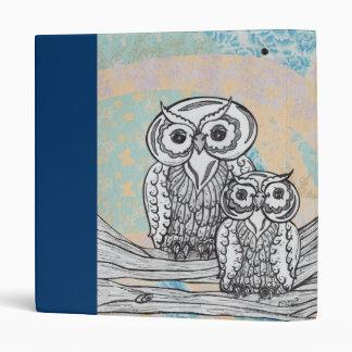 Owls 30 3 ring binder