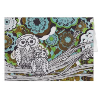 Owls 34 card