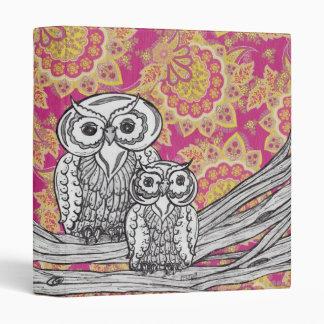 Owls 36 Binder