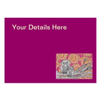 Owls 36 Business Cards