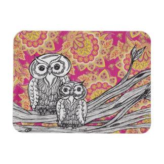 Owls 36 Magnet