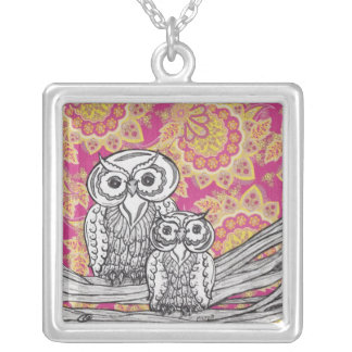 Owls 36 Necklace