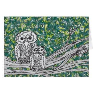 Owls 37 Card card