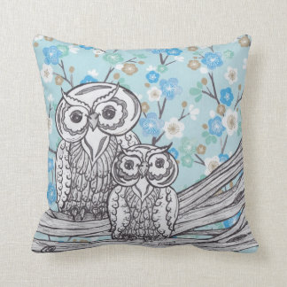 Owls 38 Pillow