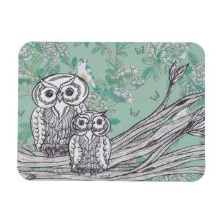 Owls 39 Magnet