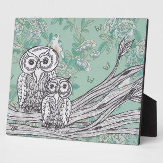 Owls 39 Photo Plaque