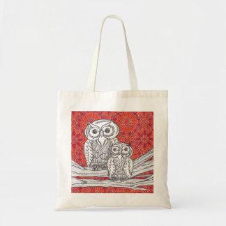 Owls 41 Grocery Bag