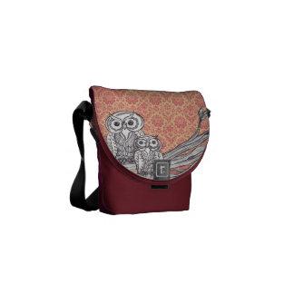 Owls 47 messenger bag