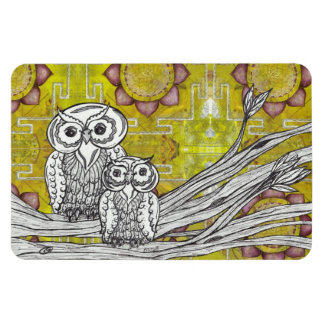 Owls 50 Magnet