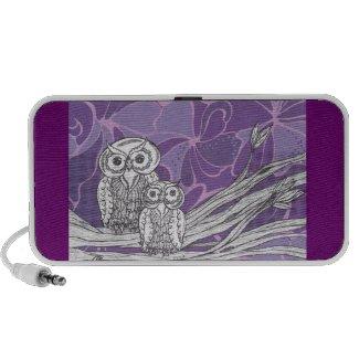 Owls 9 Speakers doodle