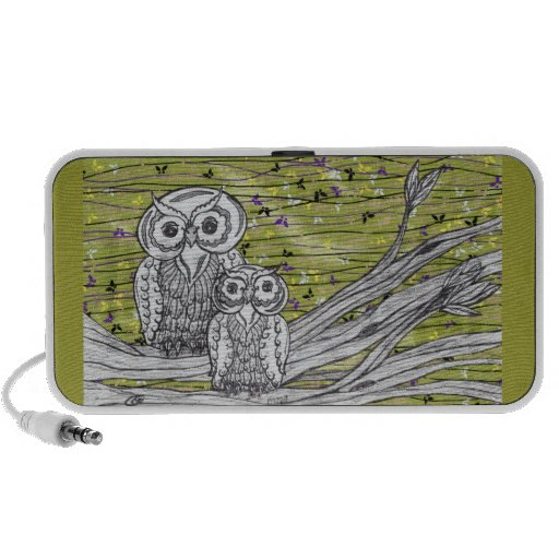 Owls and Butterflies 2 Speakers