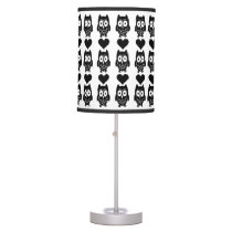Owls and Hearts Lamp