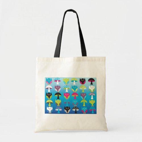 Owls and Mushrooms Bag
