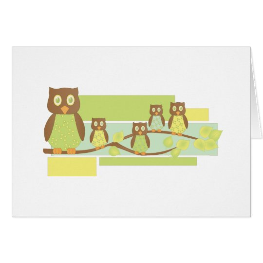Owls and Owls Card