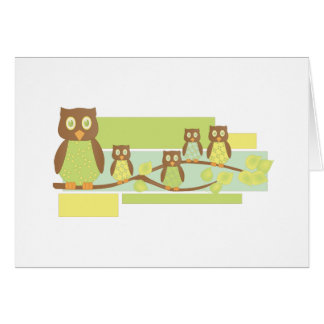 Owls and Owls Cards