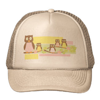 Owls and Owls II Mesh Hat