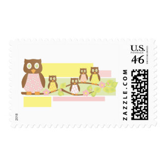 Owls and Owls II Postage Stamps