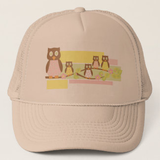 Owls and Owls II Trucker Hat