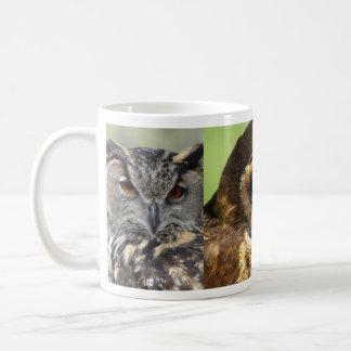 Owls Animal Birds Nature Park Tree Harmony Destiny Classic White Coffee Mug