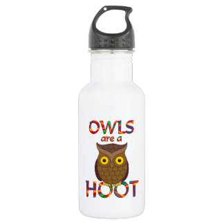 Owls are a Hoot Stainless Steel Water Bottle