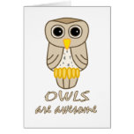 Owls are Awesome Cards