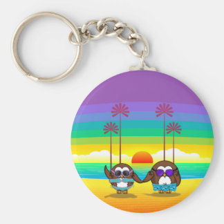owls are back to vacations! keychain