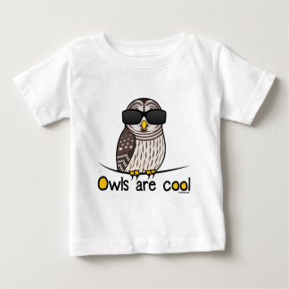 Owls are cool! baby T-Shirt