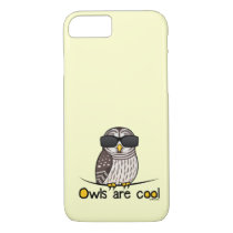 Owls are cool iPhone 7 case