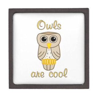 Owls are Cool Premium Gift Boxes