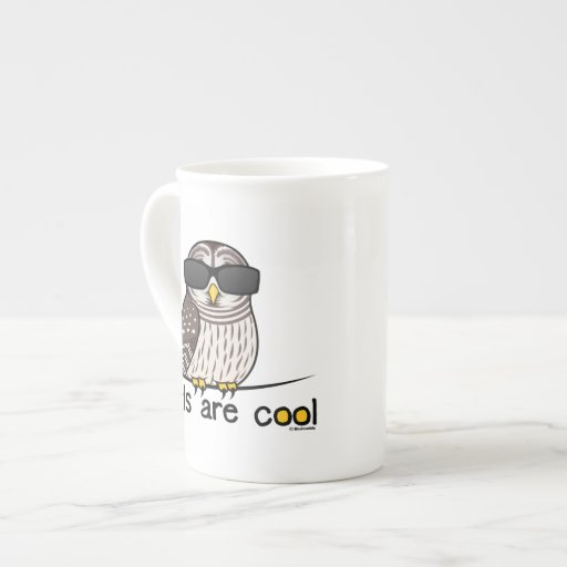 Owls Are Cool Tea Cup Zazzle