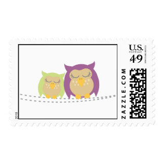 Owls Baby Stamp