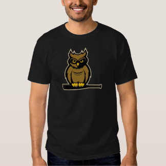 Owls Baseball Tee Shirt