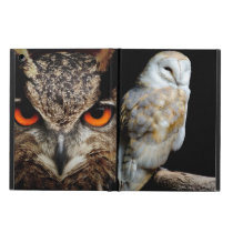 Owls Birds Animal Wings Feathers Eyes Destiny Art Case For iPad Air