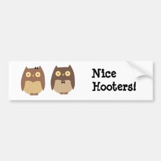Owls Bumper Stickers