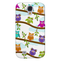 owls by day galaxy s4 cover