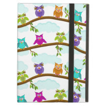 owls by day iPad air cover