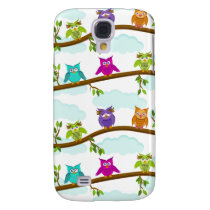 owls by day samsung galaxy s4 case