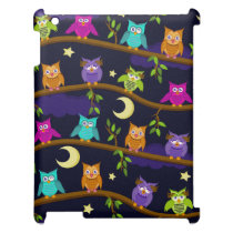 owls by night case for the iPad 2 3 4