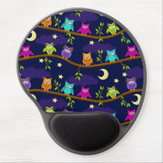 owls by night gel mouse pad