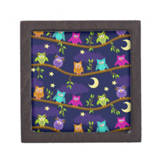 owls by night gift box
