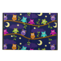 owls by night iPad air case