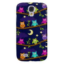 owls by night samsung galaxy s4 case