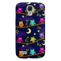 owls by night samsung galaxy s4 cover