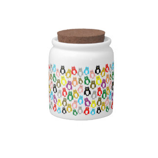 Owls Candy Jar