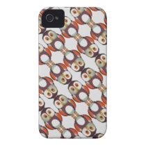 owls Case-Mate iPhone 4 case