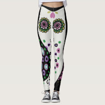 Owls Custom Comfortable Retro Leggings