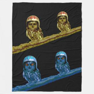 OWLS Day And Night Fleece Blanket