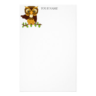 Owls design Gifts Stationery